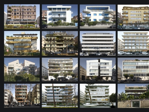 "Camilla Borghese, ""Dialoghi urbani"" / Miesto dialogai, 2014, fotoinstaliacija"