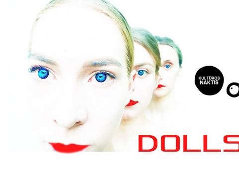 """Butō šokio teatro """"Okarukas"""" teatralizuota ekskursija """"Dolls 2.0"""". Organizatorių nuotr."""