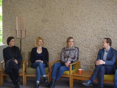 """Festivalio ,,Druskomanija"""" konferencijoje"""