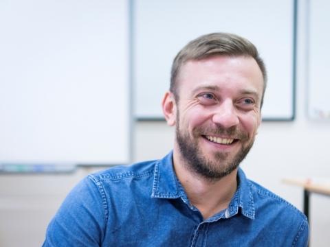 Michailas Durnenkovas. I. Bručkutės nuotr.