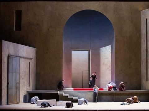 """""""Elektra"""". """"Metropolitan opera"""" nuotr."""