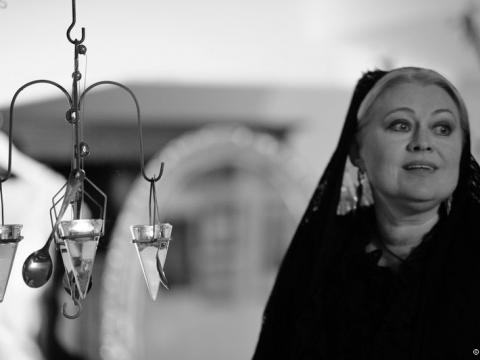 "Eglė Tulevičiūtė spektaklyje ""Post Scriptum"""