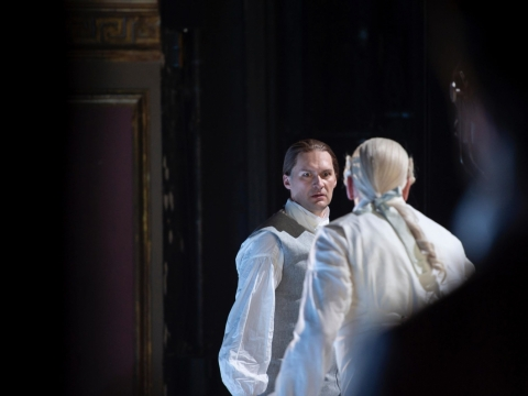 """Edgaras Montvidas operoje """"Egmontas"""". Theater an der Wien / M. Rittershaus nuotr."""