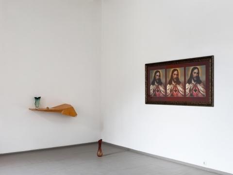"""Nerijus Erminas. """"Marijos Magdalietės kabinetas"""". 2012–2013 m. A. Valiaugos nuotrauka"""