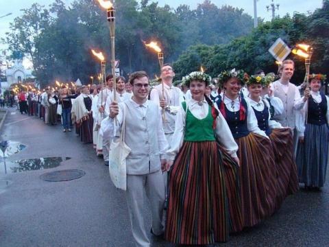"""""""Gaudeamus"""" Latvijoje. A. Grinbergo nuotr."""
