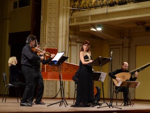 "Emanuela Galli ir ""Ghislieri Consort"". D. Jadevičienės nuotr."