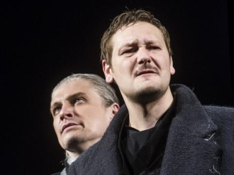 Arūnas Sakalauskas (Šuiskis), Salvijus Trepulis (Borisas Godunovas), Dainius Gavenonis (Patriarchas). D. Matvejevo nuotr.