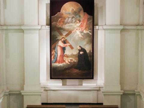 """""""Schola Gregoriana Vilnensis"""" koncertas Šv. Ignoto bažnyčioje. I.-F. Jaruševičiūtės nuotr."""
