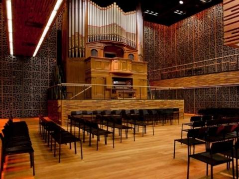 Helsinkio muzikos centro Vargonų salė