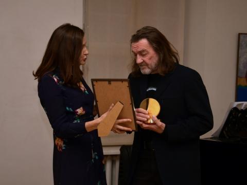 Inesa Kurklietytė ir Algimantas Mikutėnas