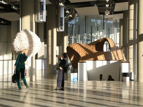 """ArtVilnius '19"" skulptūrų takas. V. Nomado nuotr."