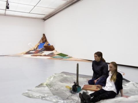 Robertas Narkus, ekspozicijos fragmentas. 2017 m.