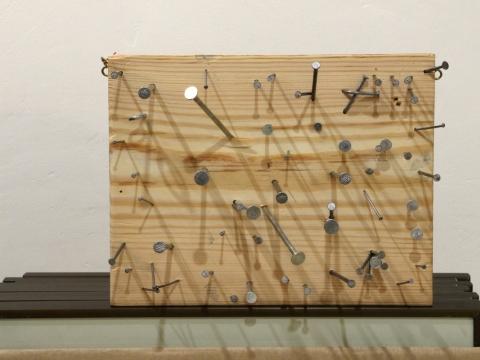 """Iš Ričardo Šileikos performanso galerijoje """"Trivium"""""""