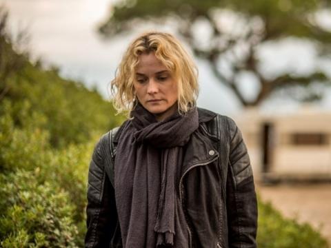 "Diana Kruger filme ""Iš niekur"" (rež. Fatih Akin)"