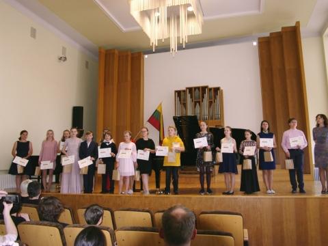 J. Gruodžio konkurso laureatai. E. Žigaitės nuotr.