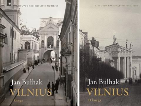 Jan Bułhak. Vilnius, I–III knyga, LNM, 2011–2013 m.