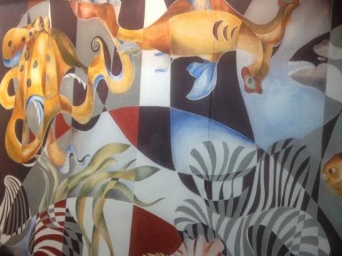 "Angelina Banytė, ""Jūros dugnas"". 1975–1976 m."