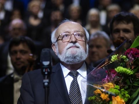 Krzysztof Penderecki. D. Matvejevo nuotr.