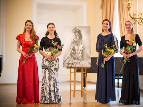 Dovilė Kazonaitė, Elzita Girčytė, Renata Dubinskaitė, Birutė Ramonaitė. A. Seliuko nuotr.