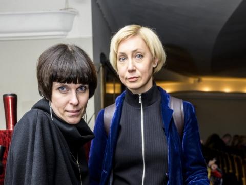 Giedrė Brazytė ir Lera Surkova. D. Matvejevo nuotr.
