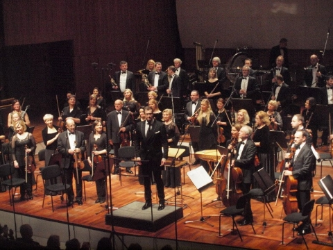 Lietuvos nacionalinis simfoninis orkestras. A. Rake nuotr.