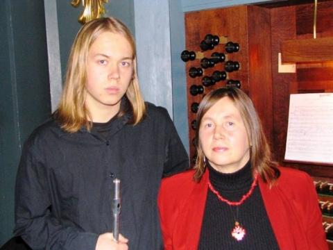 Jūratė Landsbergytė ir Vytautas Oškinis