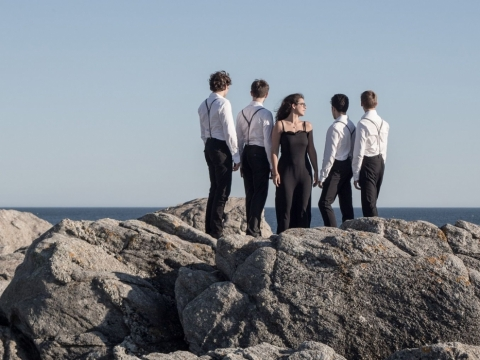 "Kvintetas ""Le Bateau Ivre"". Organizatorių nuotr."