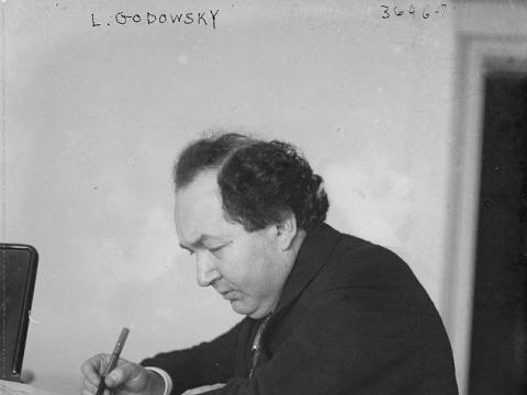 Leopold Godowski. 1915 m.