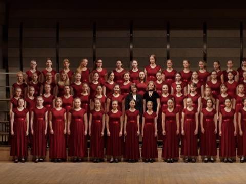"""Chorinio dainavimo mokyklos """"Liepaitės"""" Merginų choras"""