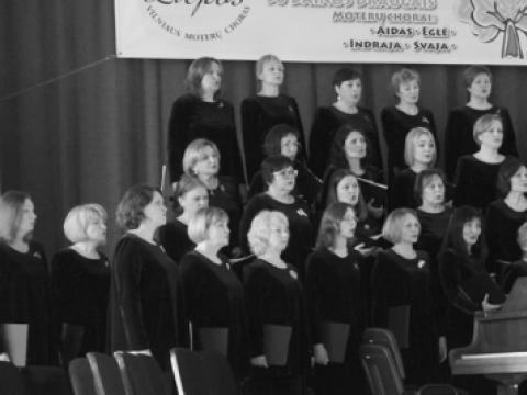 """""""Liepų"""" choro koncertas VU Didžiojoje auloje"""