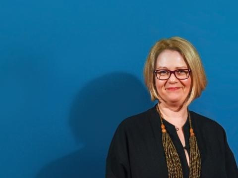 Lietuvos nacionalinio muziejaus direktorė Rūta Kačkutė. R. Dackaus nuotr.