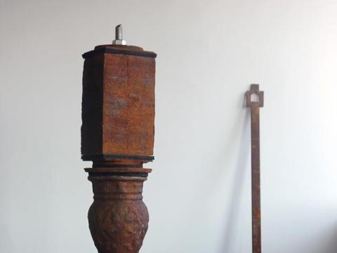 """Matas Janušonis, """"Ruošinys"""", nuotr. L. Pranaitytės, šaltinis: POST galerija"""