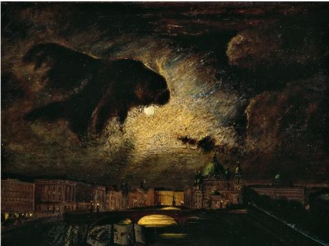 Louis Douzette, Berlynas naktį