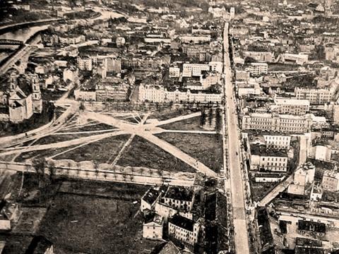 Lukiškių aikštė XIXa. Vilniaus vaizdų archyvo nuotr.