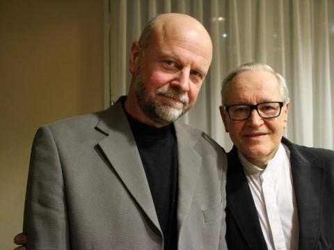 Arvydas Malcys ir David Geringas. A. Rakausko nuotr.