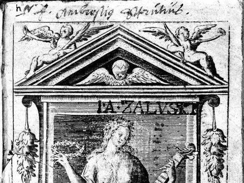 """Motiejus Kazimieras Sarbievijus """"Trys lyrinių eilėraščių knygos"""". Kelnas, 1625 m."""