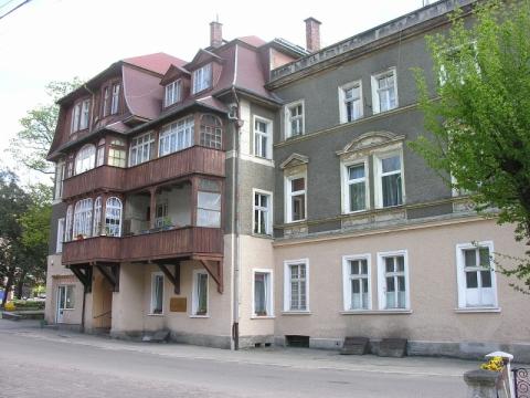 Namas Sokolovske, kuriame gyveno Krzysztofas Kieslowskis