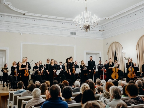 "Orkestras ""Accademia Baltica"", dir. M. Barkauskas. M. Endriuškos nuotr."