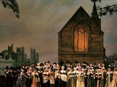 """Puritonai"". ""Metropolitan opera"" nuotr."
