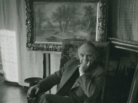 Petras Stauskas. 1979 m. R. Ropytės nuotr.