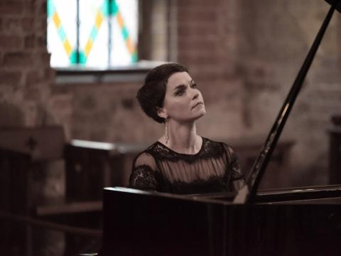 Pianistė Eglė Andrejevaitė. D.Buinickaitės nuotr.