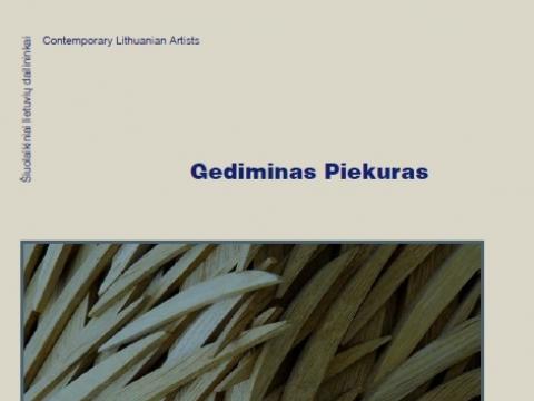 """Knygos """"Gediminas Piekuras"""" viršelis"""