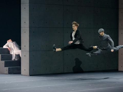 """Baleto spektaklis """"Procesas"""". M. Aleksos nuotr."""