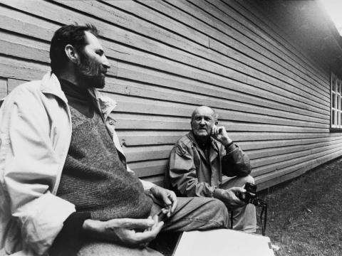 Ričardo Dailidės nuotrauka. Algimantas Švėgžda