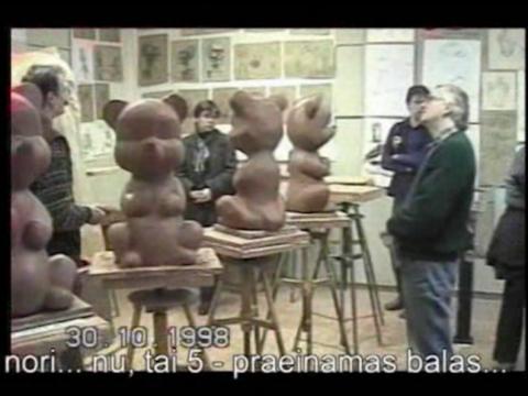 """Artūras Raila, """"Mergaitė nekalta"""". 1998–1999 m."""