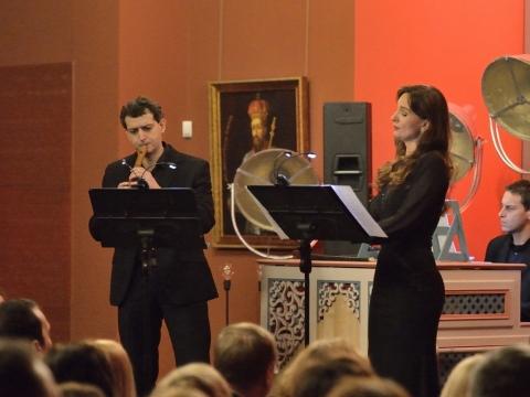 Rodrigo Calveyra, Renata Dubinskaitė ir Davide Pozzi. Organizatorių nuotr.