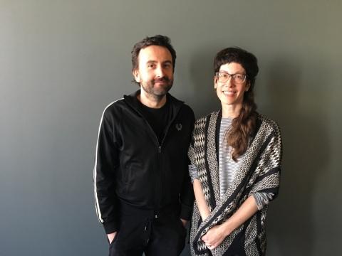 Romuald Krężel ir Monica Duncan. LNDT nuotr.