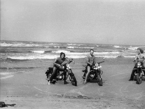 """Romualdas Požerskis, """"Kelionė prie jūros"""". 1972 m."""