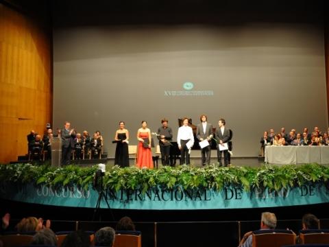 Santandero Konkurso finalininkai 2012 m. Nuotr. Elena Torcida