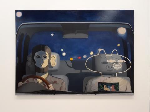 """Satoru Kuratos parodos """"Ba/u/cker La/u/cker"""" eksponatas. D. Žuklytės-Gasperaitienės nuotr."""